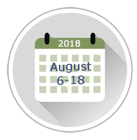 August 2018 Administration Dates