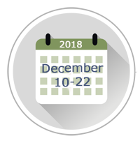 December 2018 Administration Dates
