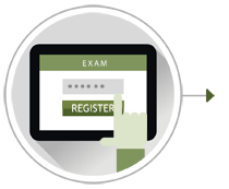 Register for the exam